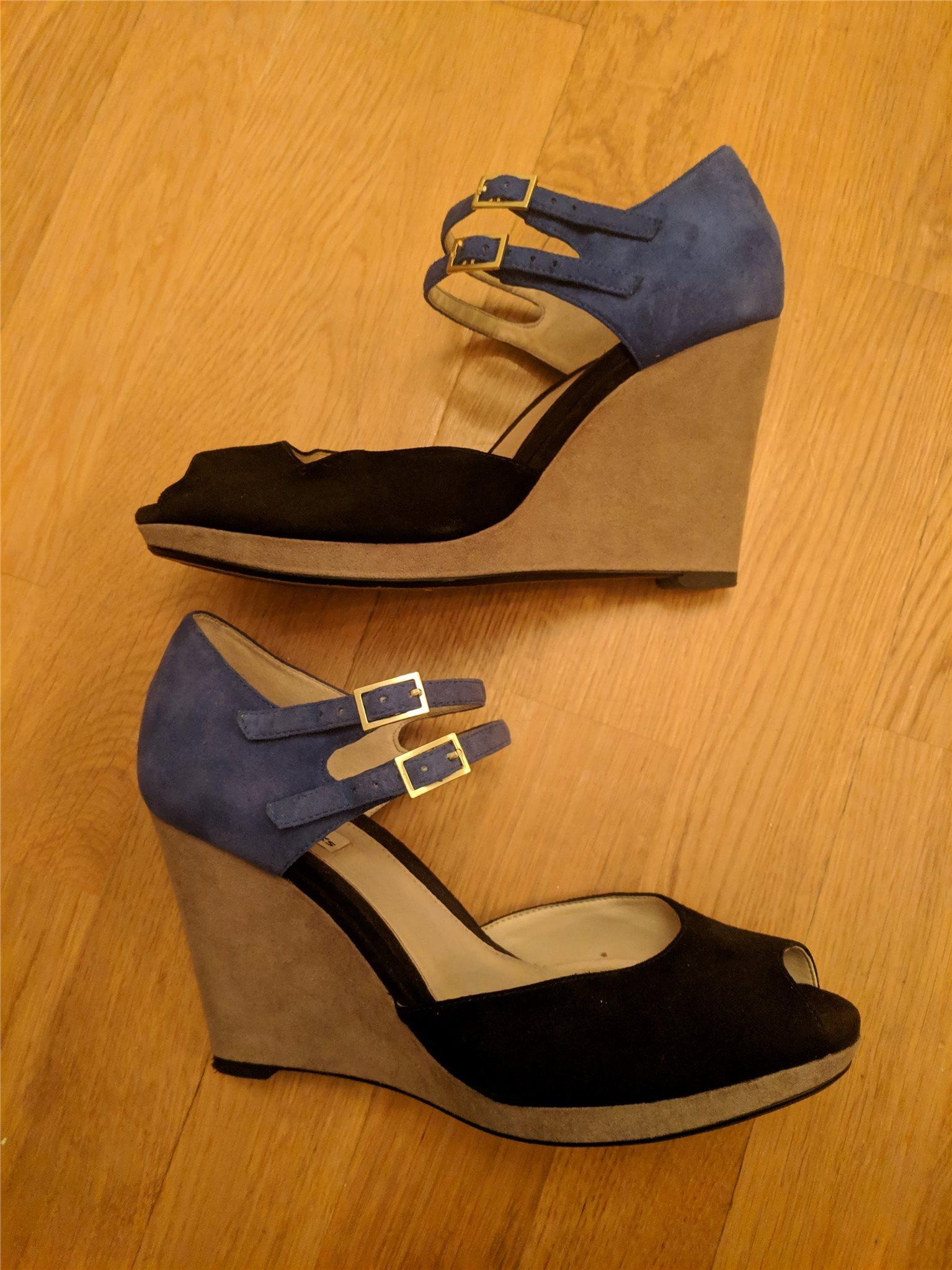 Snygga skor med kilklack f8a290fccd18a