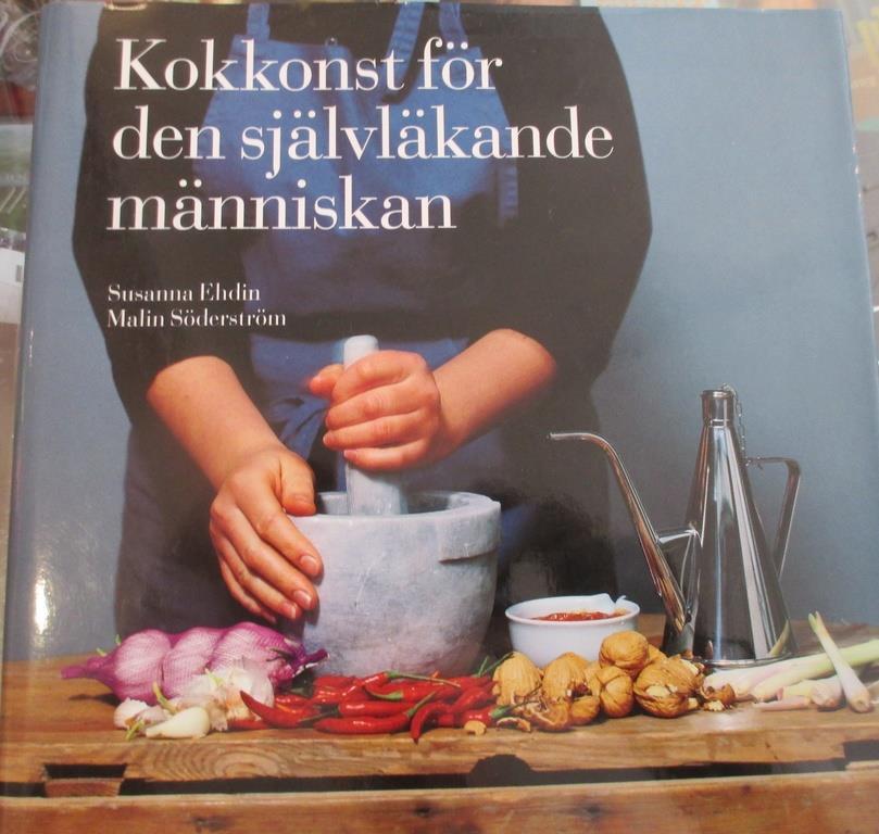 kokbok med nyttiga recept