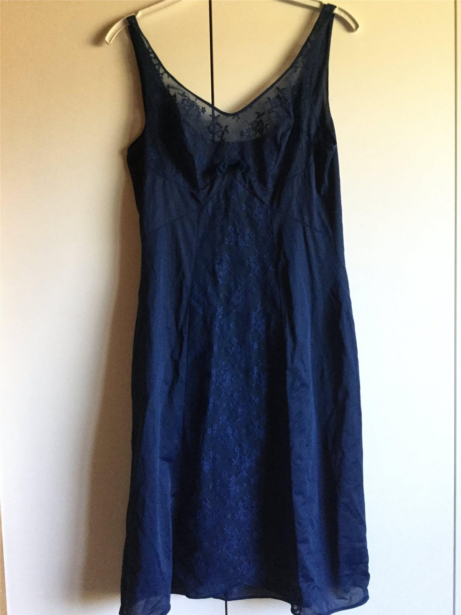 Triumph marinblå underklänning med spets vintag.. (340485052) ᐈ Köp ... e51e138cbffef