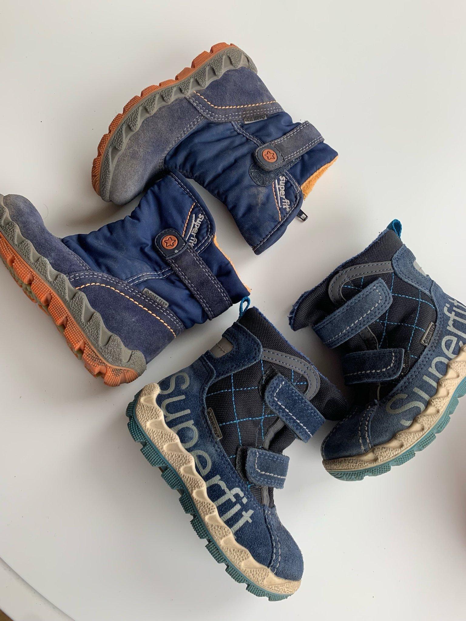 d6e42490a077 2 par Gore-tex Superfit barn skor 22-23 (350736677) ᐈ Köp på Tradera