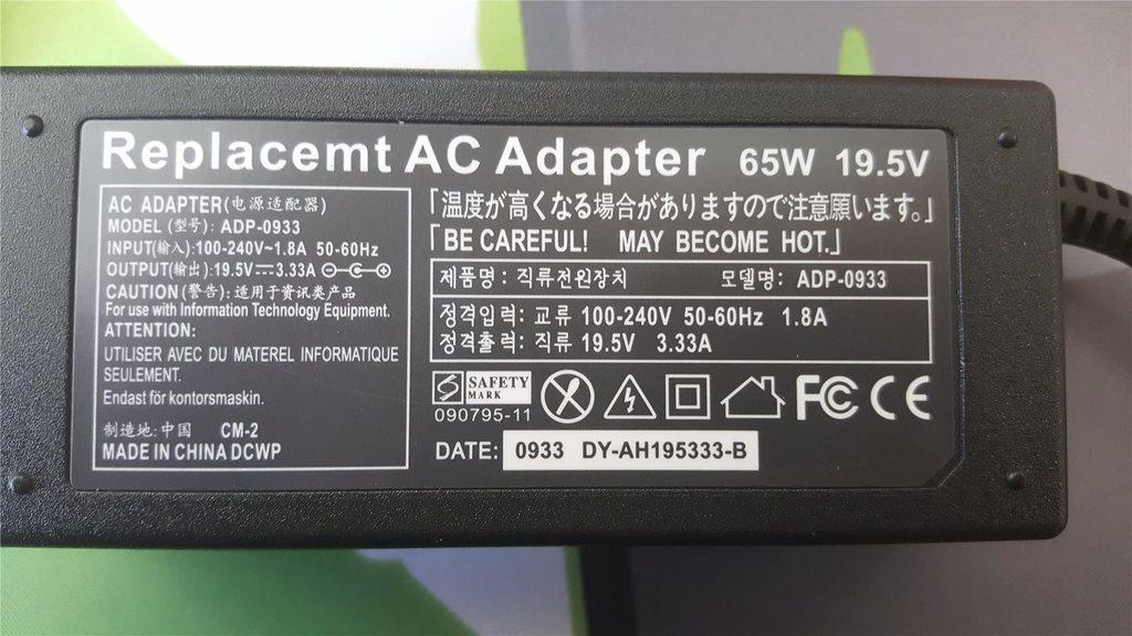 HP laddare 4.5*3.0mm Kontakt HP Envy; chrom.. (335014372