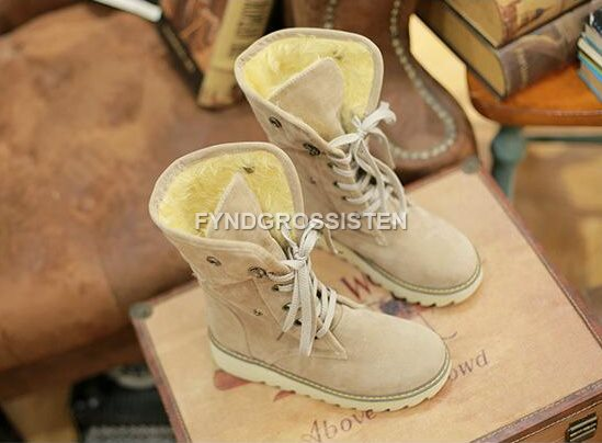 fbba2d68954 Dam Boots/Kängor Beige 38 Fri Frakt Ny (327912496) ᐈ FyndGrossisten ...