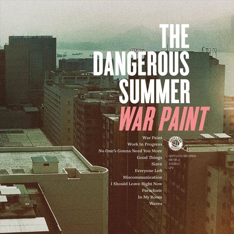 Dangerous Summer - War Paint - CD