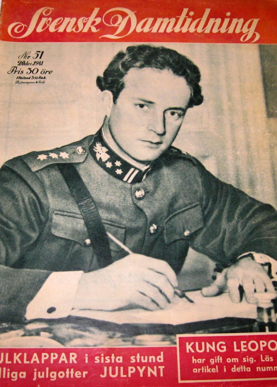 S-D 1941-51 Kung Leopold Stort Bildreportage..Kung Gustaf