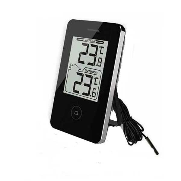 Digital termometer Svart 534fea62fe3a2