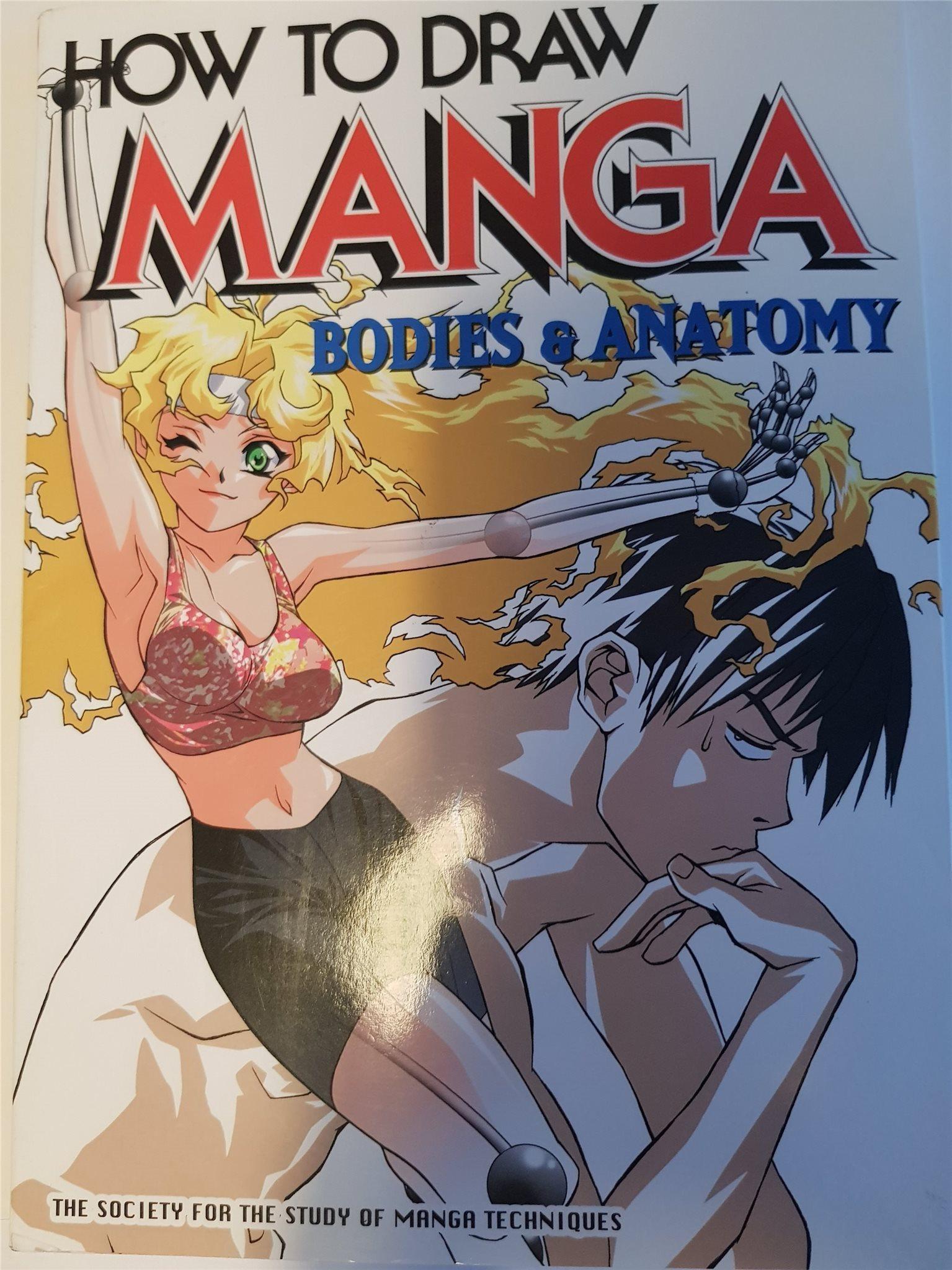 How to draw Manga #25 Bodies & Anatomy (319568872) ᐈ Köp på Tradera