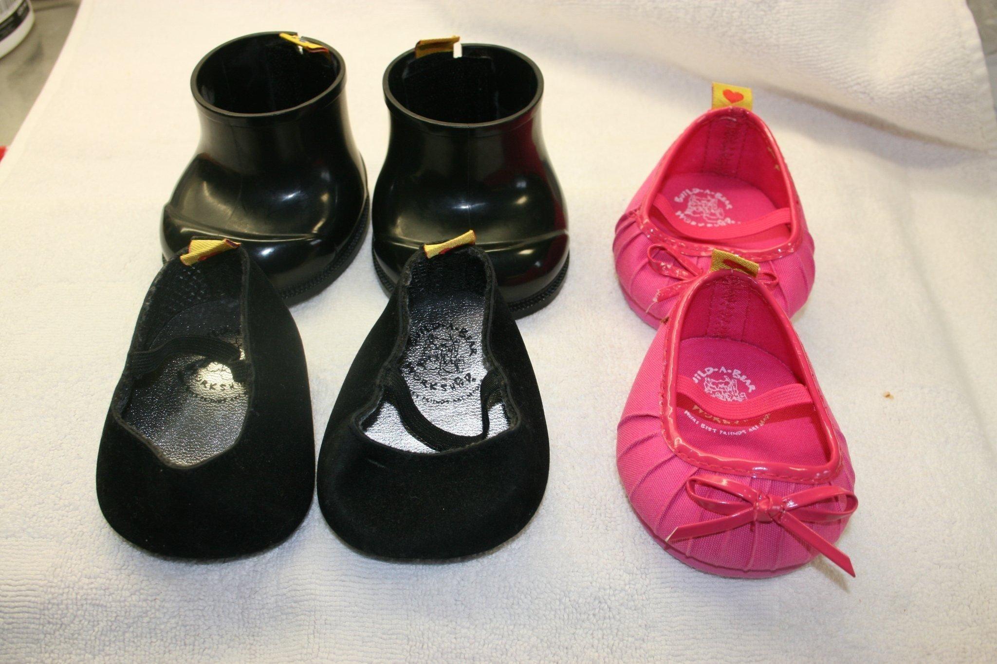 bfc11325d6bf skor till docka-stora storlek de rosa (346283342) ᐈ Köp på Tradera