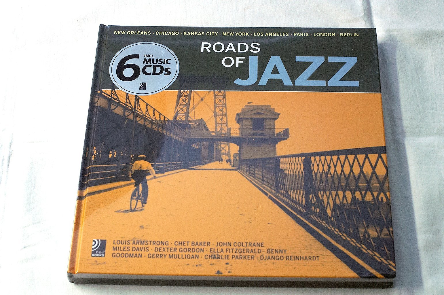 ROADS OF JAZZ, inkl 6 Musik CD´s, 2013