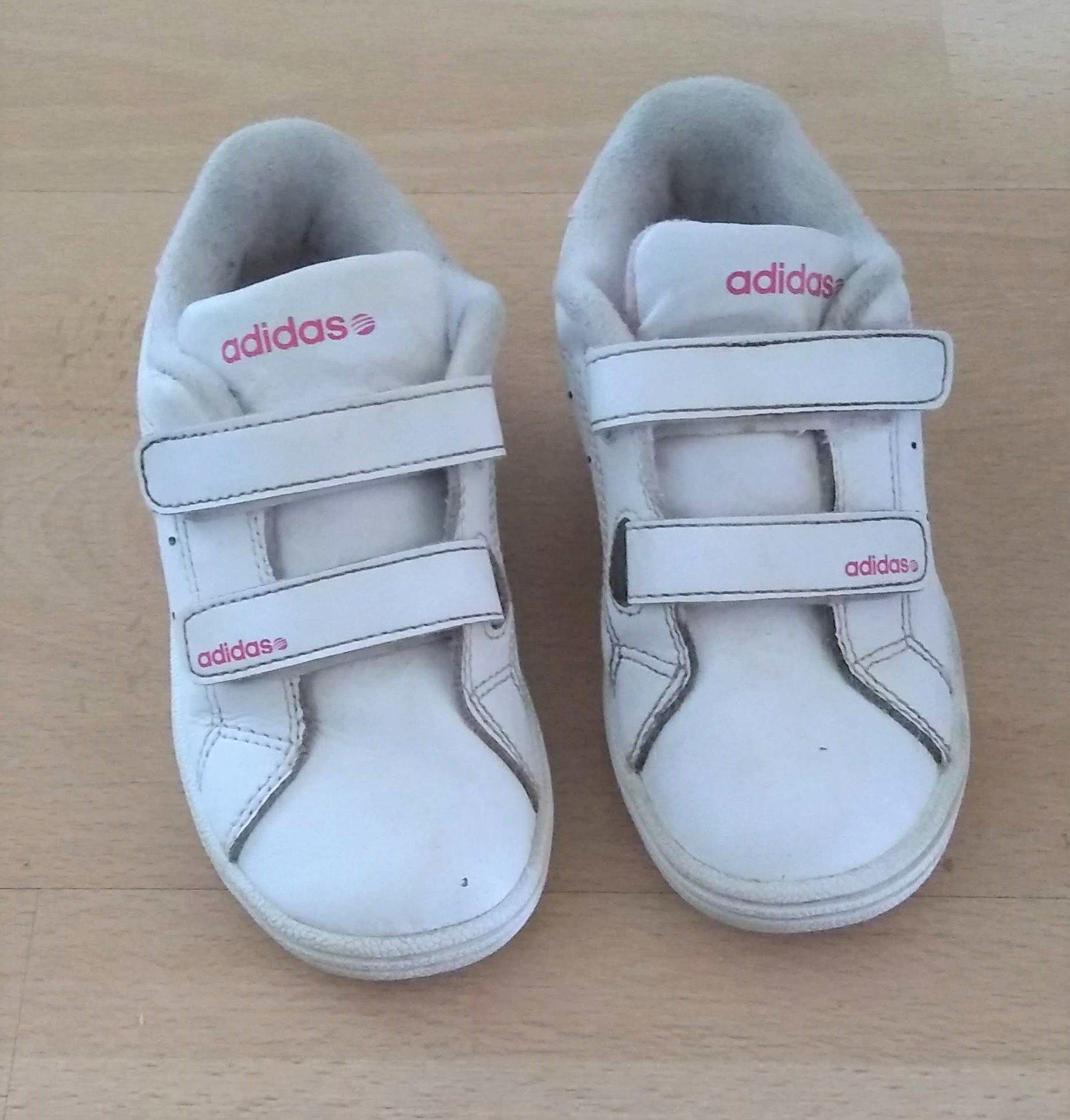 72b04d0d0bf Snygga Adidas sneakers i stl 26 (352760298) ᐈ Köp på Tradera