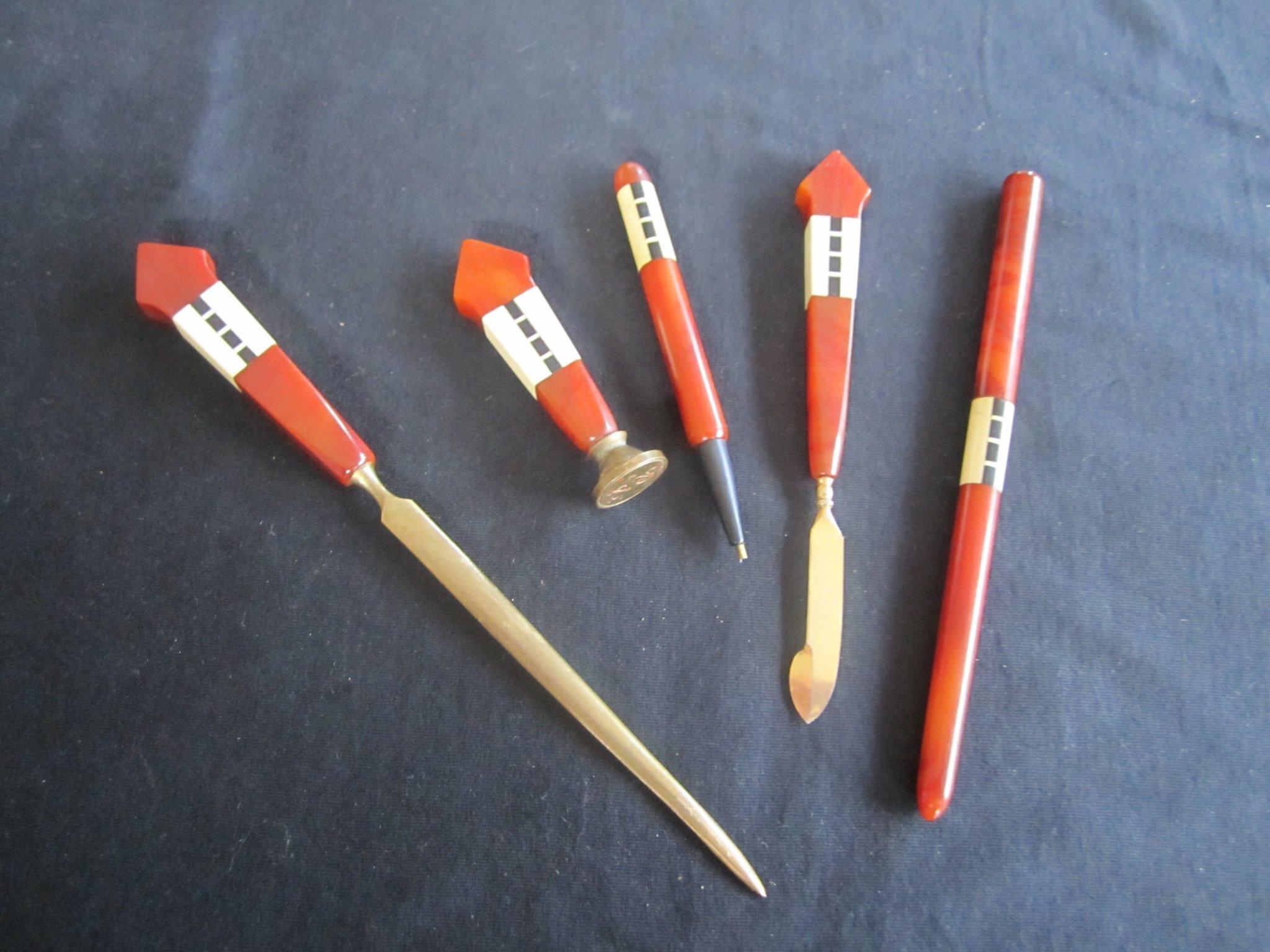 penna med stämpel