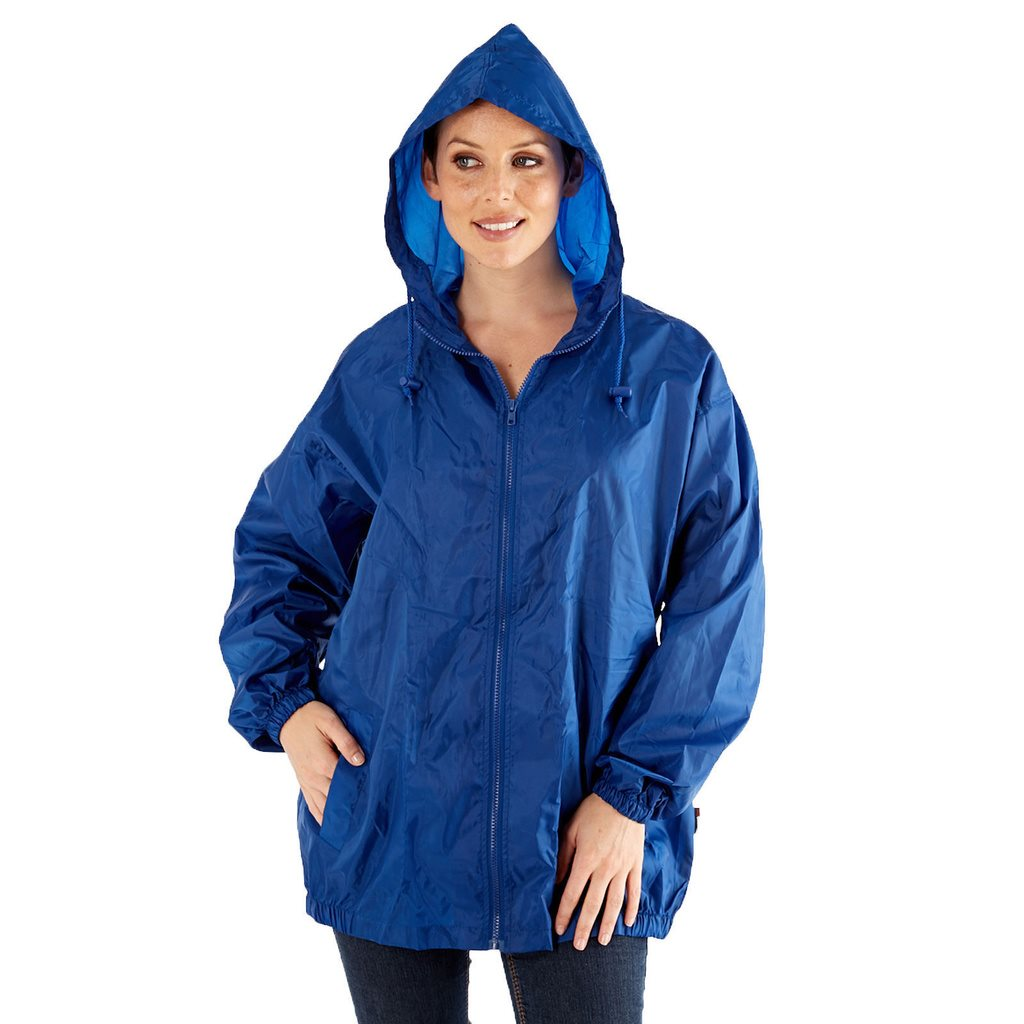 Pro Climate Ladies Waterproof Jacket Lightweight Raincoat Pac a Mac Kag In A Bag
