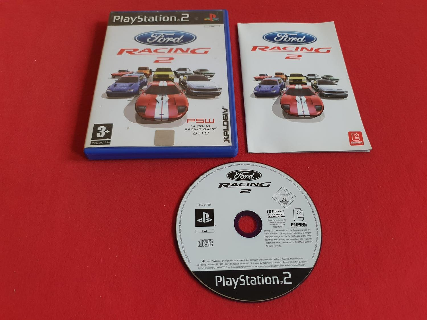 FORD RACING 2 till Sony Playstation 2 PS2