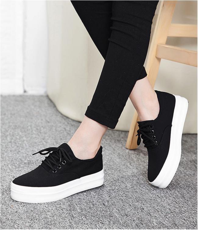 skor med hög sula