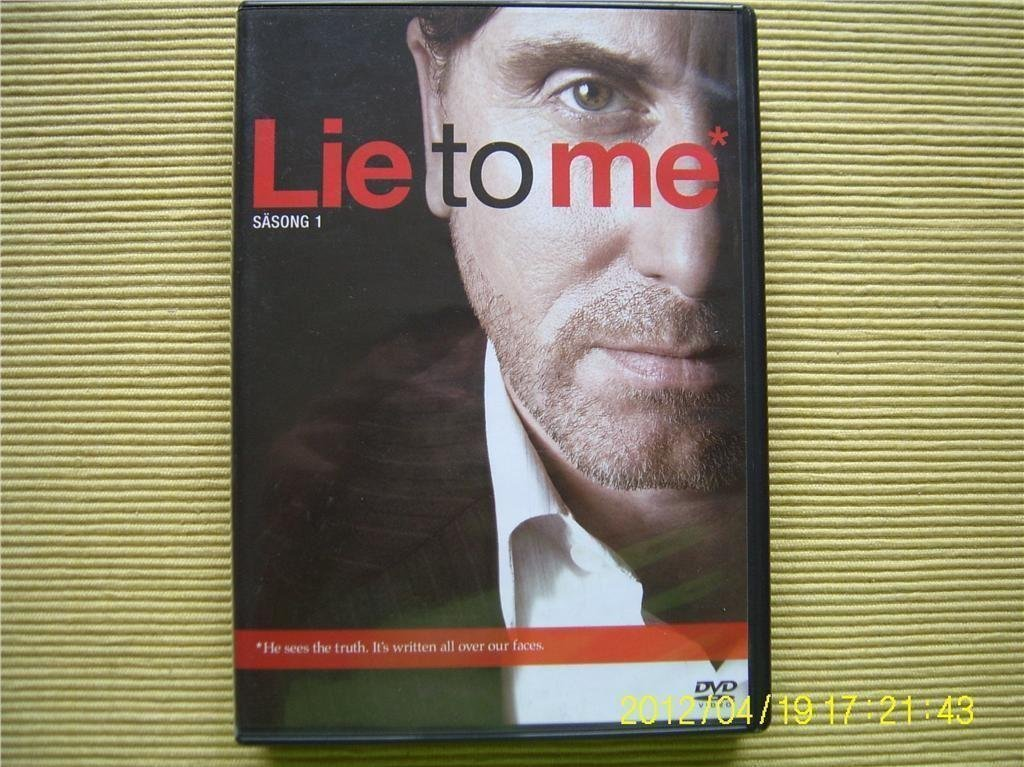 DVD - Lie to me (Säsong 1) (4-disc)