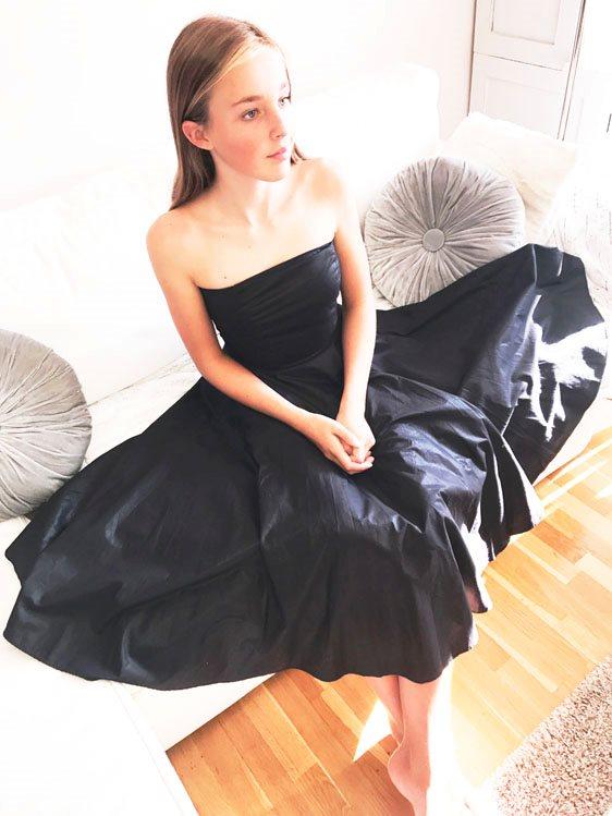 fd9278bd7fe2 Isabell Kristensen svart klänning strapless bal fest bröllop ballerina XS  ...