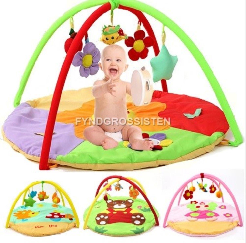 Babygym Baby Baby Baby Matta 0-12 mån Kanin Fri Frakt Helt Ny 205648