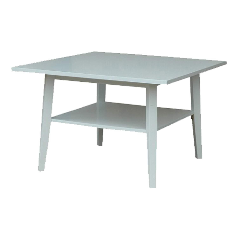 954 Fyrkantigt soffbord med underskiva vi (306215443) u1408 tusent på Tradera