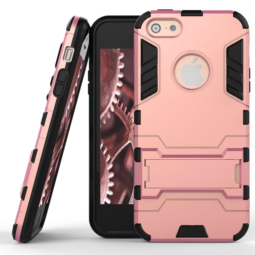 Skal till Apple iPhone 5 5s SE Space Armor Rosa Guld Hård Plast Skydd Fodral 1dc7de4730505