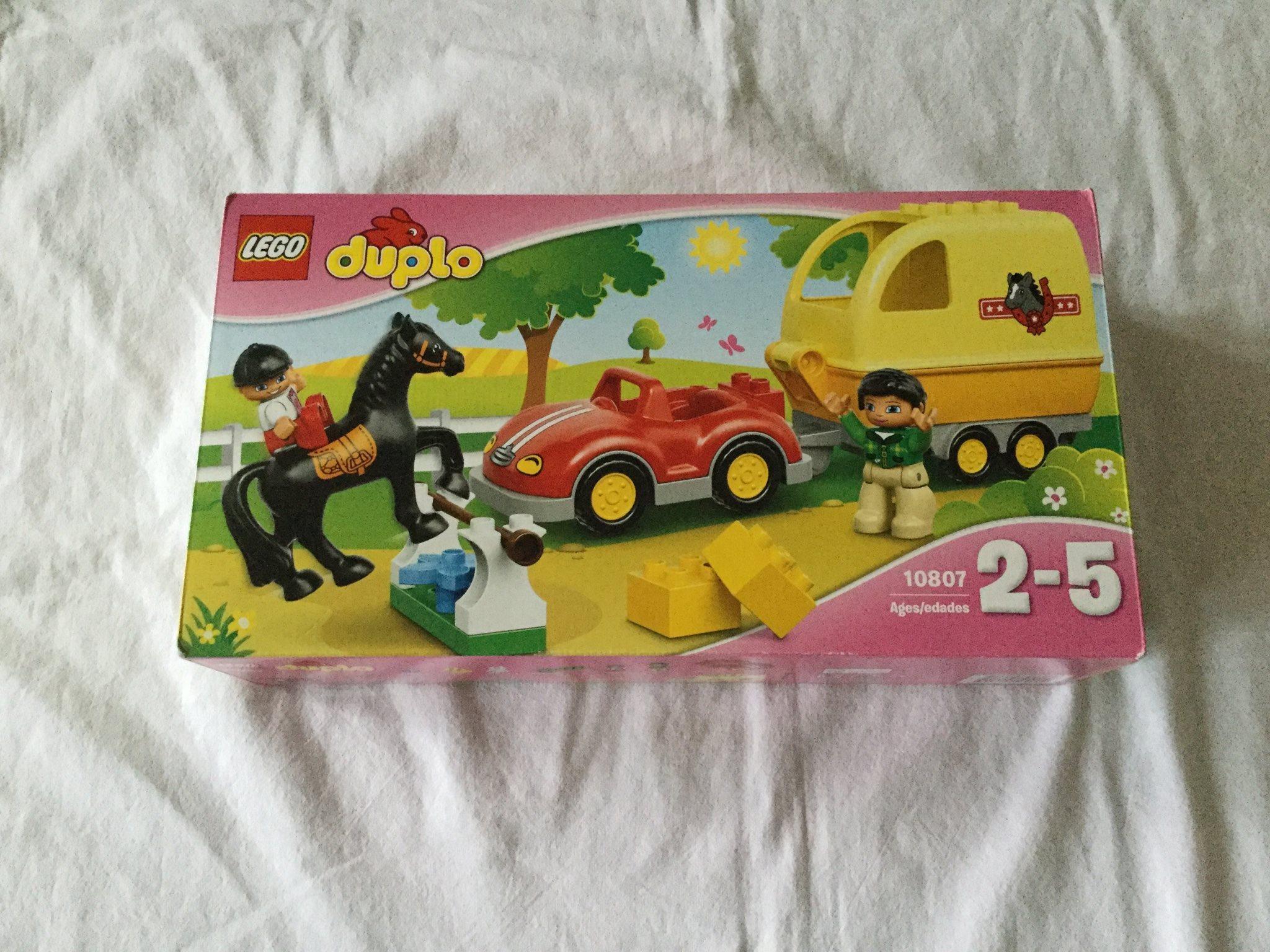 NYTT - Lego Duplo - Hästtransport 10807