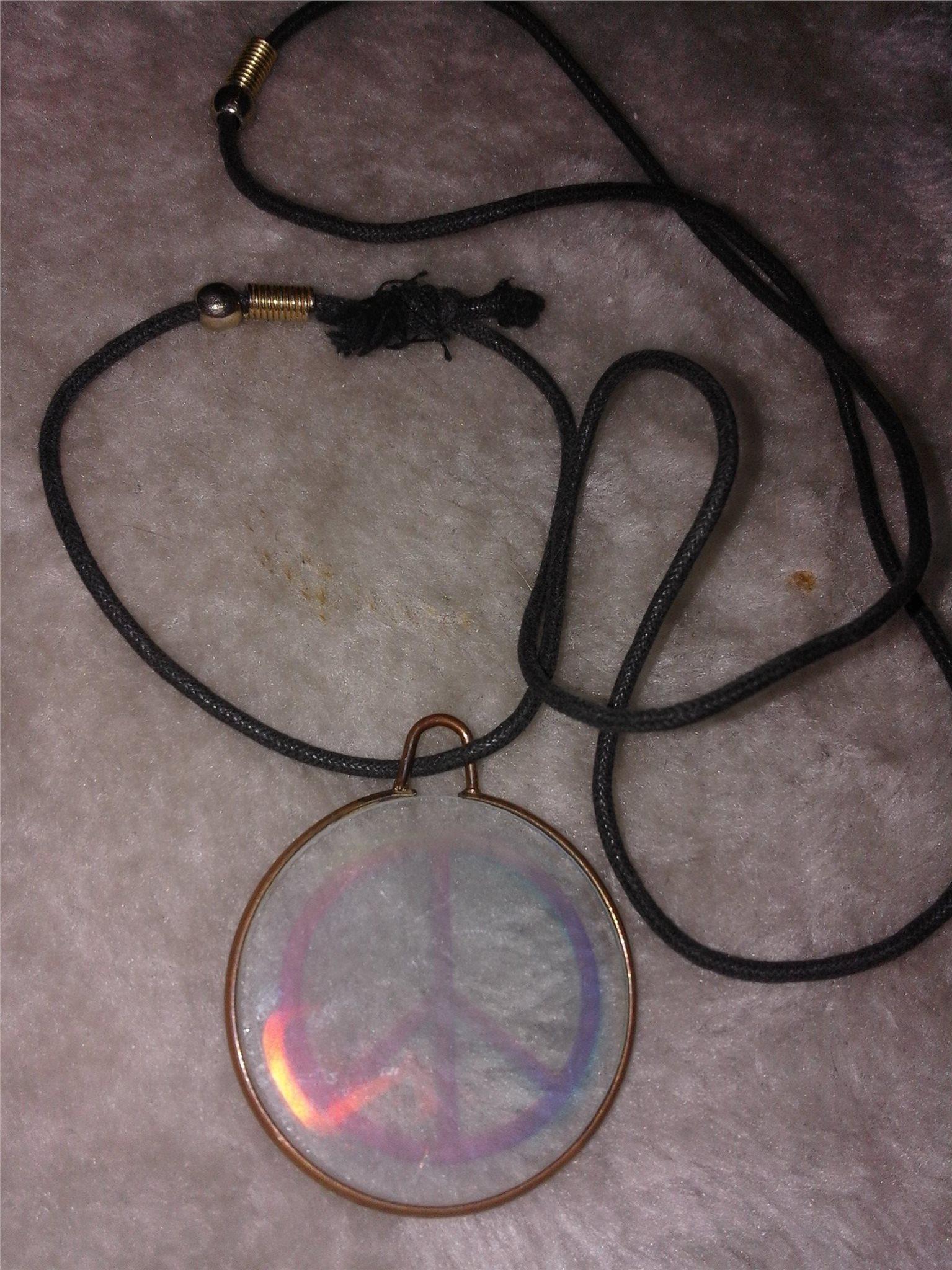Peace halsband (333564074) ᐈ Köp på Tradera 76838bffce438