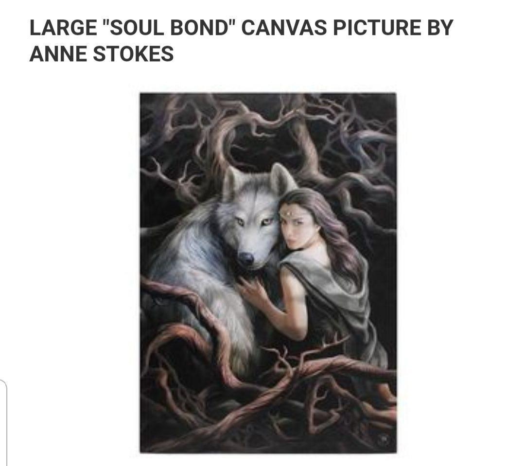 foto på canvas stor