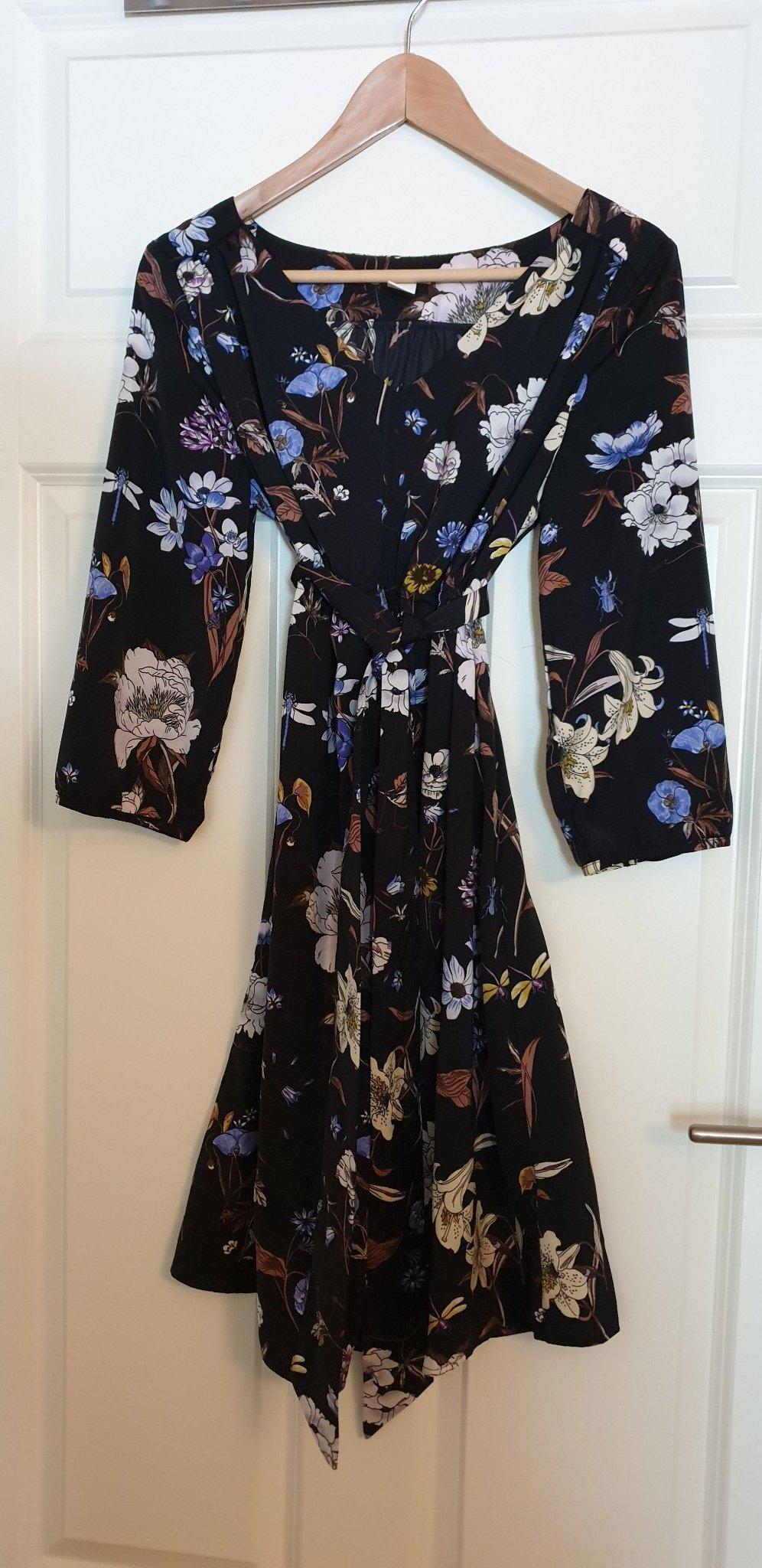 2980225611a9 Jätte fina klänningar från hm Mama stl M-L (347627473) ᐈ Köp på Tradera