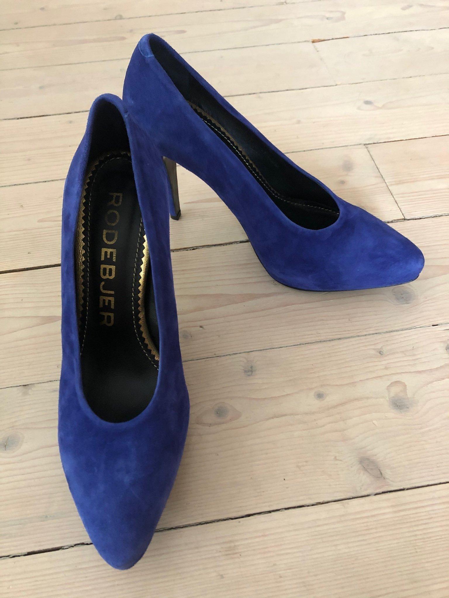 Rodebjer skor blå, storlek 39 (406056797) ᐈ Köp på Tradera
