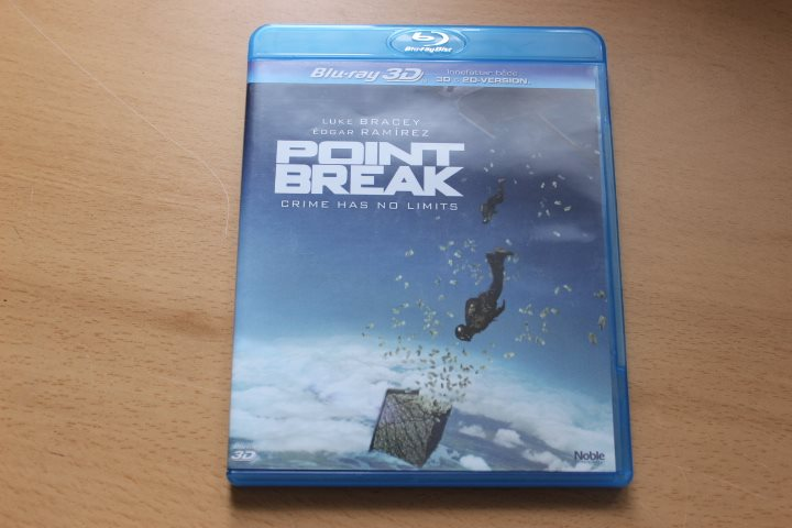 Blu-ray 3D: Point break (Luke Bracey, Édgar Ramírez)
