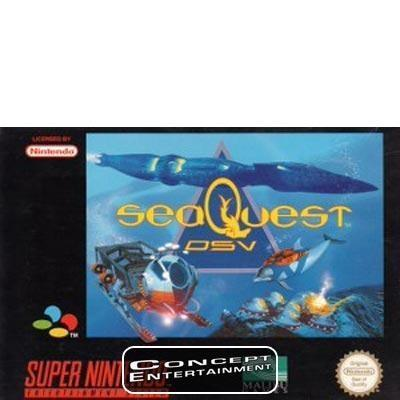 SEAQUEST DSV /SEA QUEST till Super Nintendo SNES