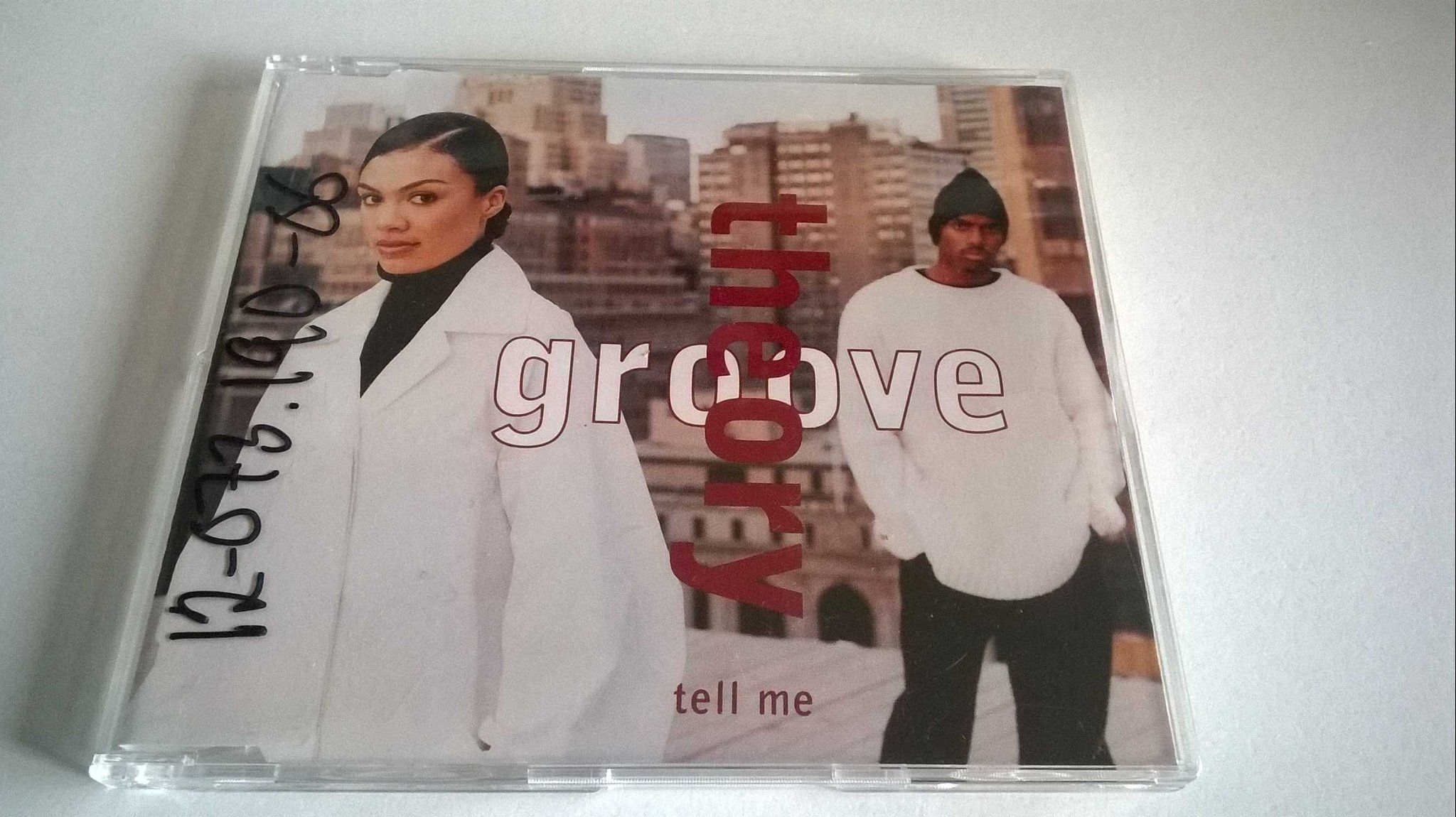 Groove Theory - Tell Me, CD
