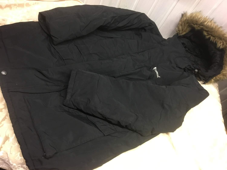 Fin svart varmfodrad vinterjacka stl XL PineWo.. (365777827