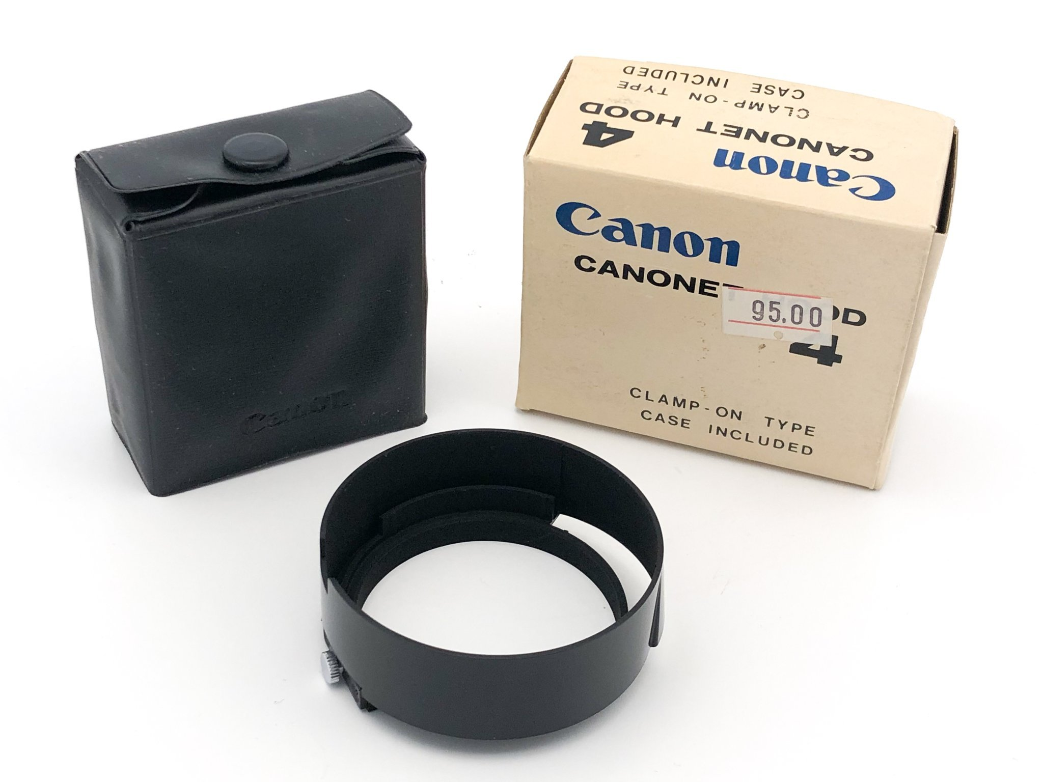 Canon Canonet 4 Lens Hood Motljusskydd NOS Made in Japan