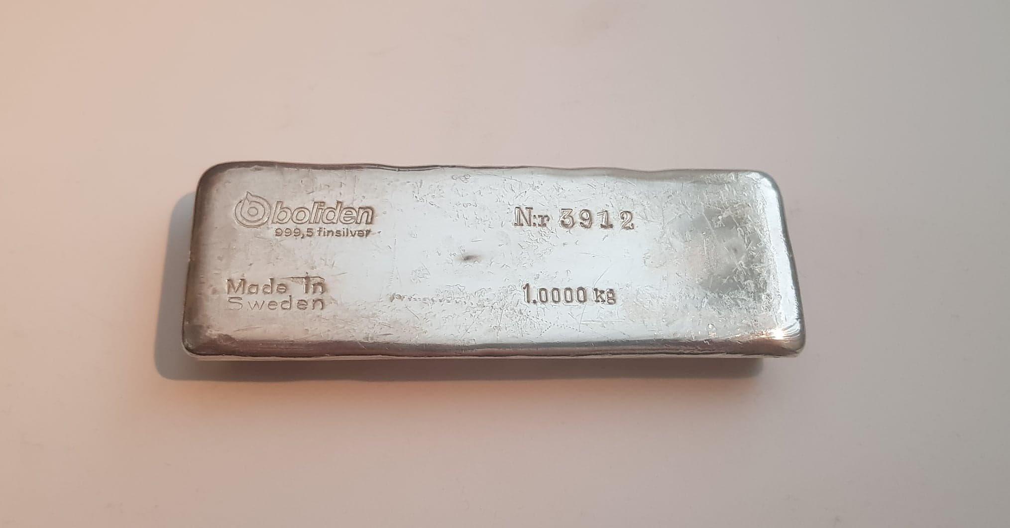 silvertacka 1 kg