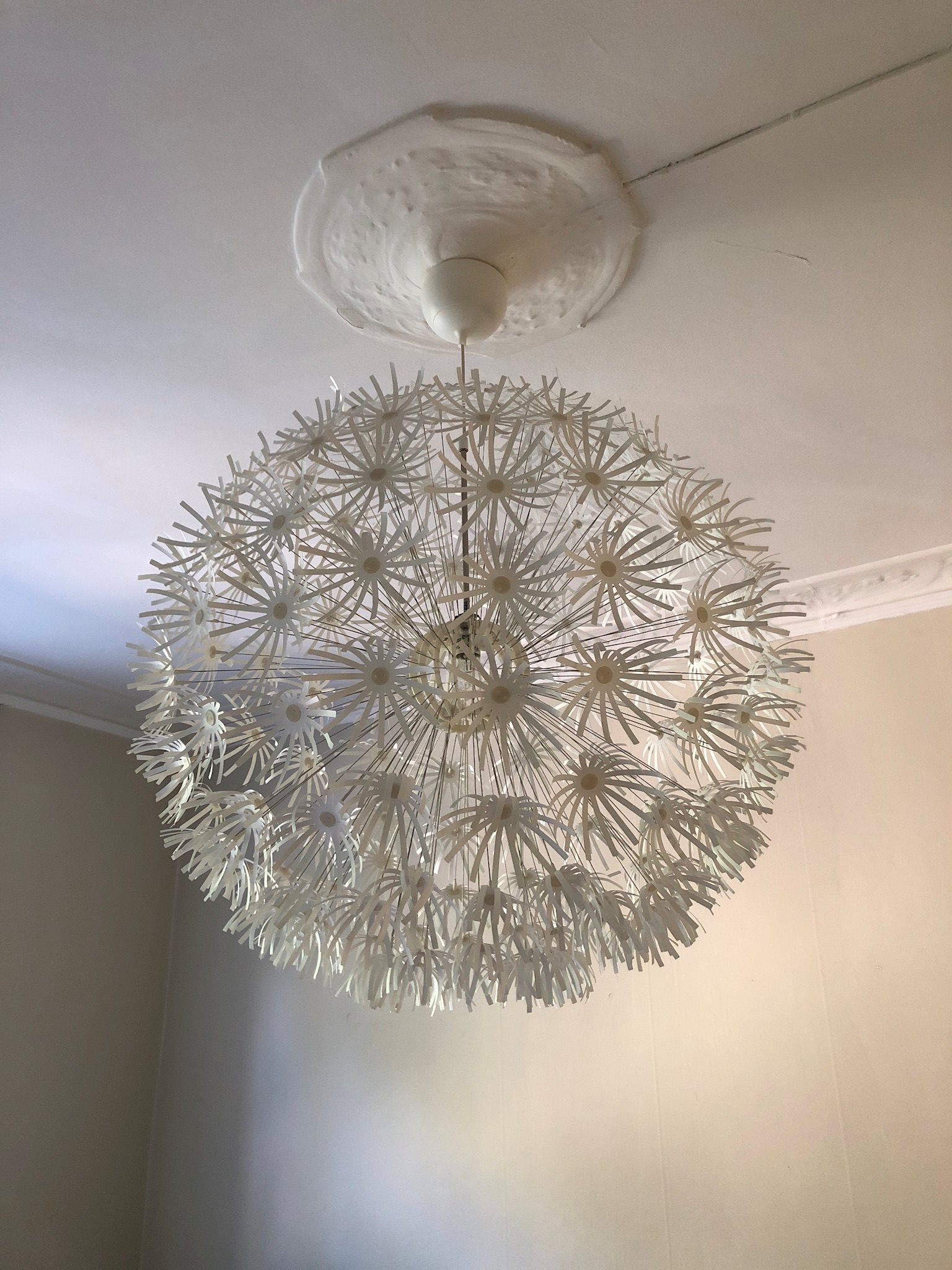 ikea maskros lampa 80cm (326040542) ᐈ köp på tradera