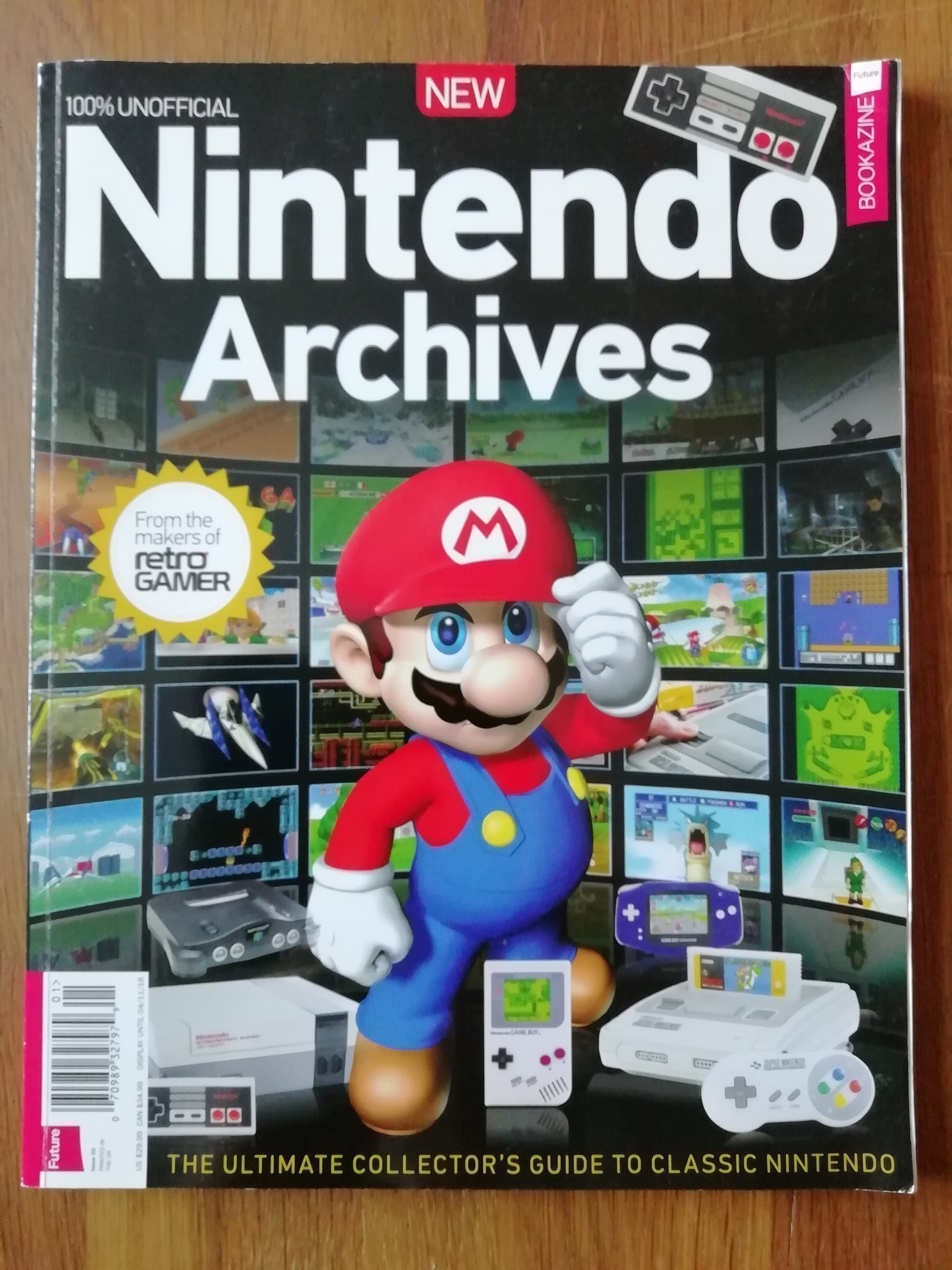 Nintendo Archives Second Edition 2017 Bookazine