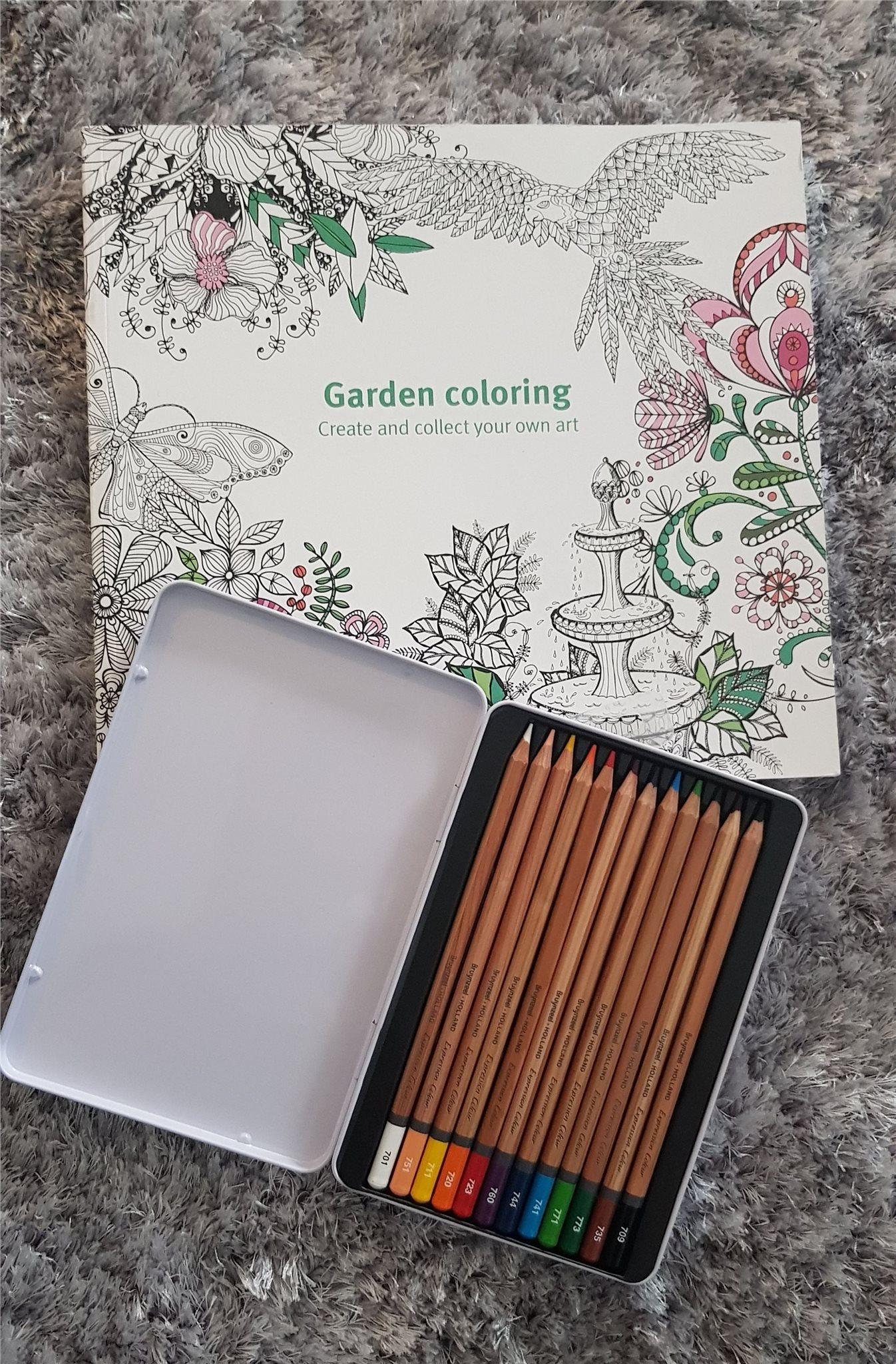 målarbok för vuxna pennor