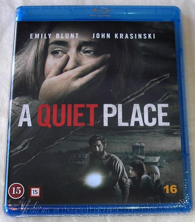 A Quiet Place (Dolby Atmos) (Blu-ray) **HELT NY** (346379794