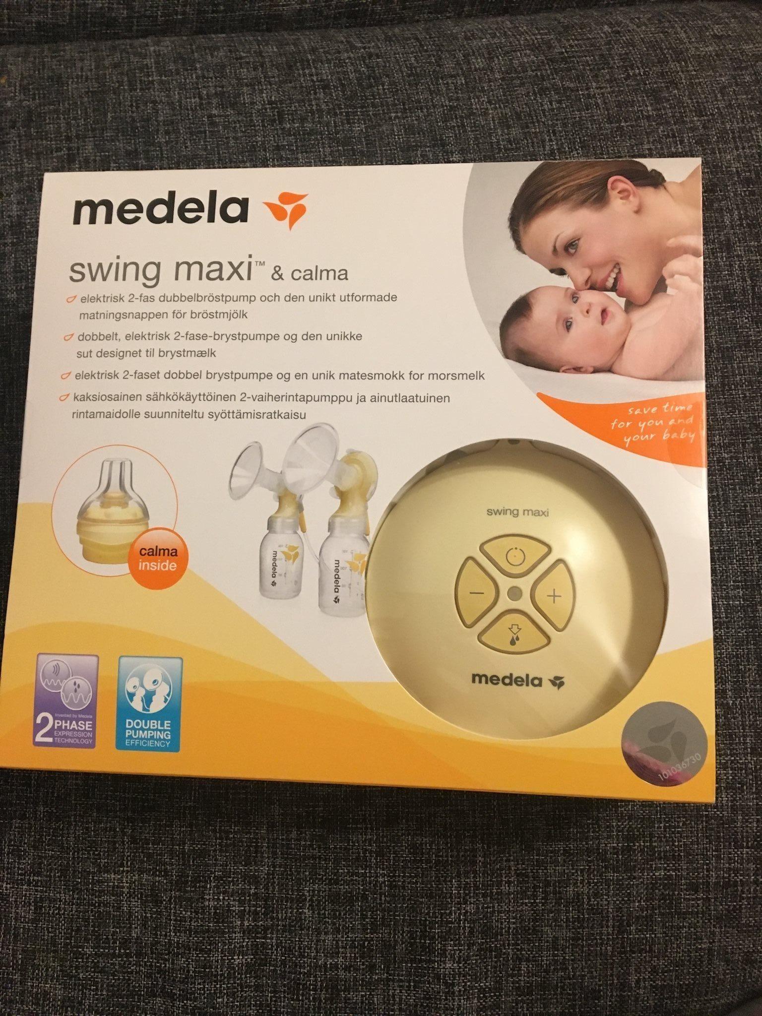 Medela Elektrisk Dubbel Bröstpump Swing Maxi me.. (340065700) ᐈ Köp ... db69c32b2142f