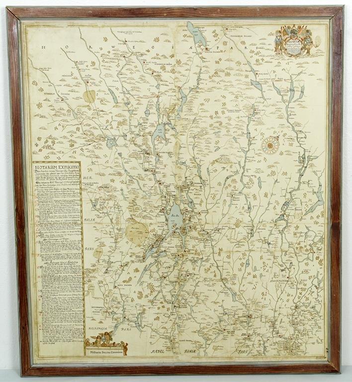 Kristoffer Stenklyfts Karta Over Ja 374492018 ᐈ Auktionsbyra