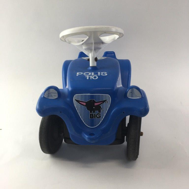 Big, Leksaksbil, Bobby Polisbil, Blå/Vit