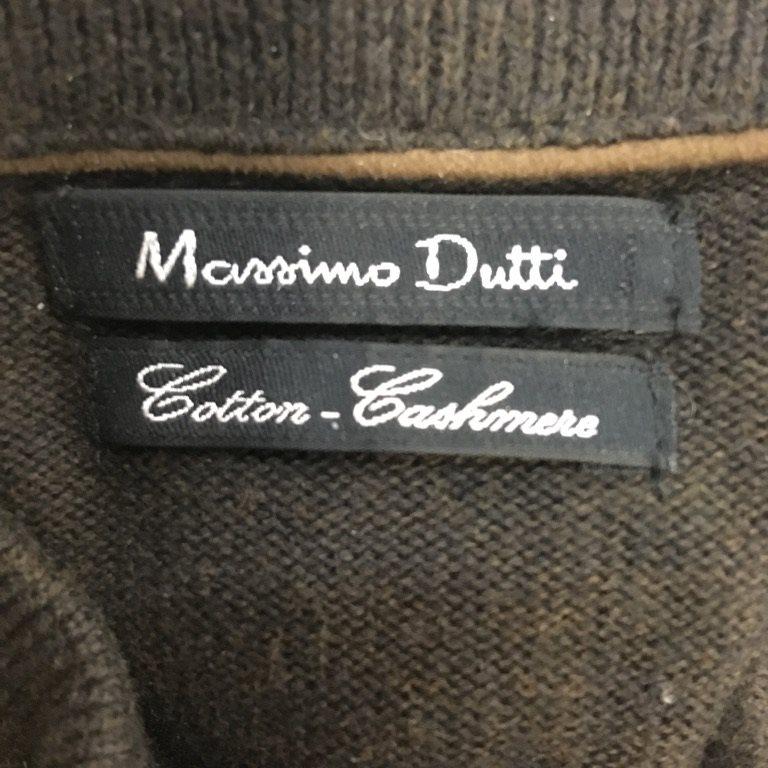 Massimo Dutti, Dutti, Dutti, Kofta, Strl: XL, Brun, Kashmir/Bomull b9760e