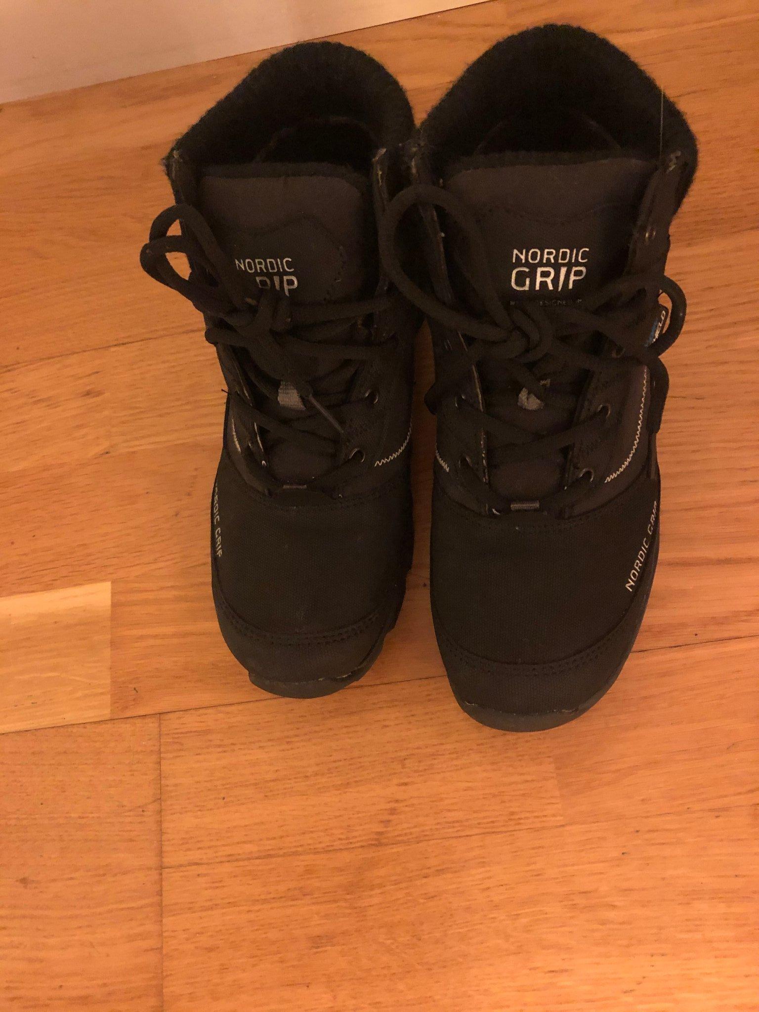 Vinter boots, kängor, Nordic grip, st. 37, 24cm (386622423