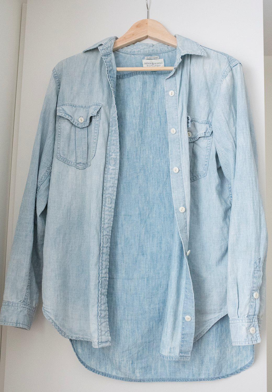 ralph lauren jeansskjorta dam