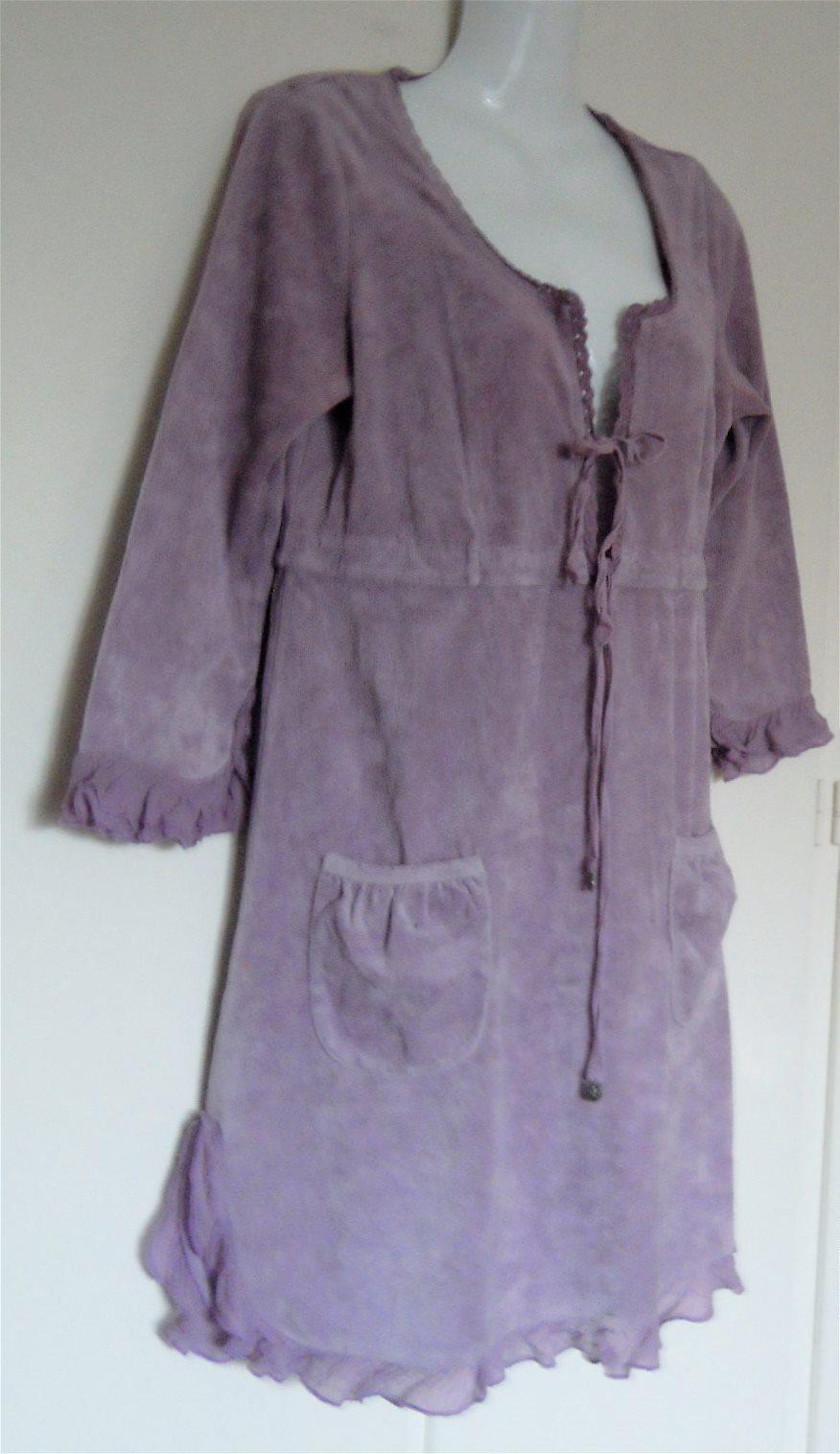 odd molly velour klänning