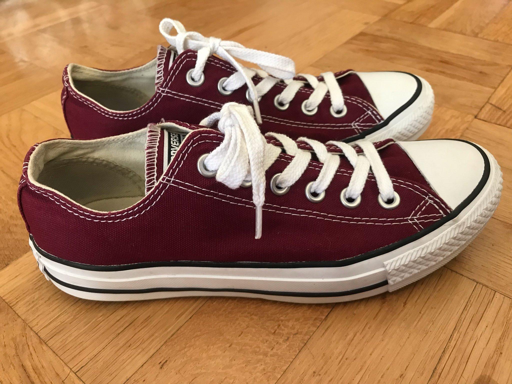 aca7741497b Converse stl 37,5 (38) sneakers skor vinröd röd (352577913) ᐈ Köp ...