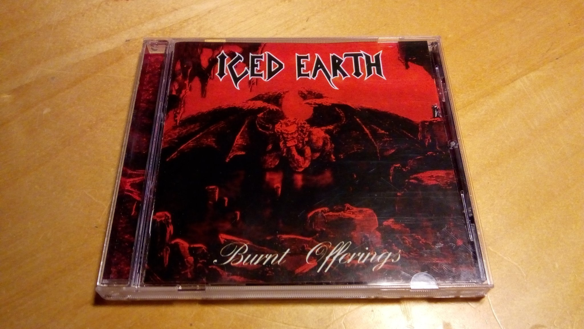 Iced Earth - Burnt offerings - US metal hårdrock CD