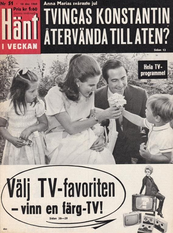Hänt 1969-51 1969-51 1969-51 Garbo.Blom.Sjöberg.Nobel.Lindgren.Strüwer.Georg 4484dc