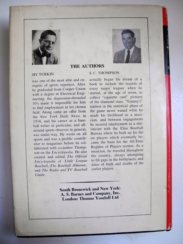 THE OFFICIAL ENCYCLOPEDIA ENCYCLOPEDIA ENCYCLOPEDIA OF BASEBALL 4th edition Roger Treat 1968 b9c6ab