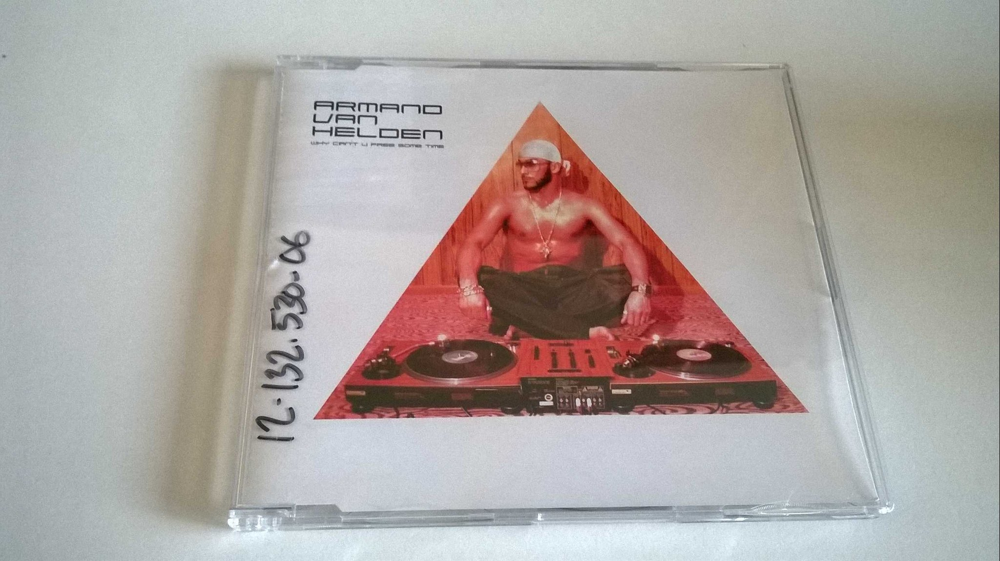 Armand Van Helden - Why Can't You Free Some Time, CD