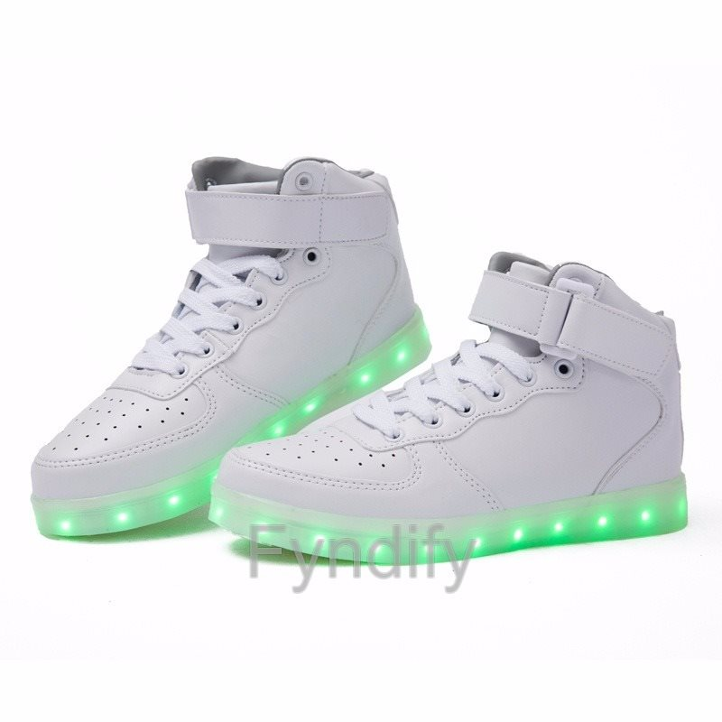 new product 870e9 dc4ab Dam LED Sneaker Vit Strlk 35 (295544604) ᐈ Fyndify på Tradera